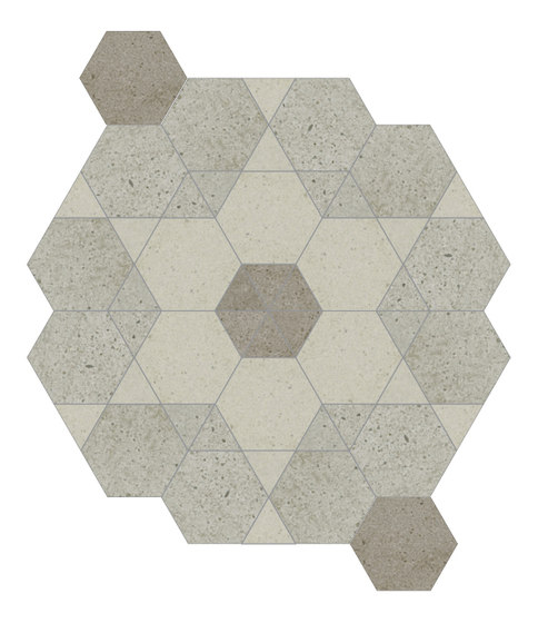 Puntozero   rosone B+C calda by Cerdisa   Ceramic tiles