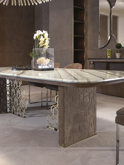Excelsior by Longhi S.p.a. | Dining tables