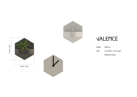 Simul 4 de Valence Design | Candelabros