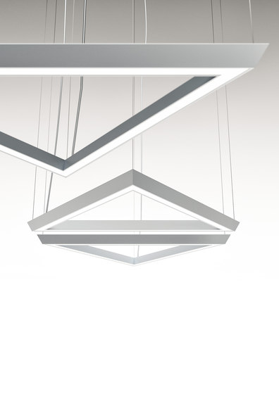 LightSound suspension LED lamp by Quadrifoglio Group   Suspended lights