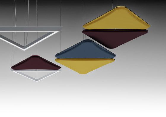 LightSound acoustic panel de Quadrifoglio Group | Plafonds acoustiques