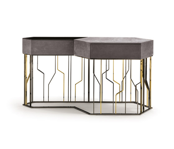 GinzaEvo by Longhi S.p.a. | Console tables