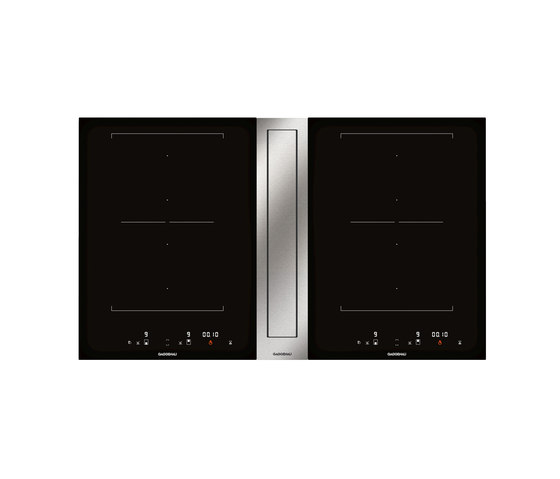 flex induction cooktop with downdraft ventilation cvl 420 kochfelder von gaggenau architonic. Black Bedroom Furniture Sets. Home Design Ideas