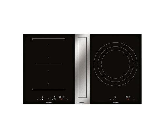Flex induction cooktop with downdraft ventilation | CVL 410 by Gaggenau | Hobs
