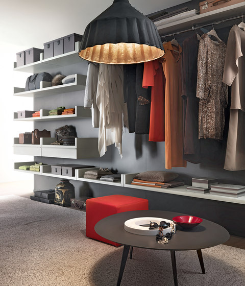Novenove by LEMA | Walk-in wardrobes