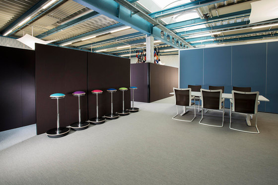 Sitag MCS room dividing partition system by Sitag | Office Pods
