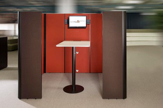 Sitag MCS room dividing partition system di Sitag | Sistemi assorbimento acustico architettonici