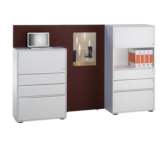 Sitag MCS room dividing partition system by Sitag | Cabinets