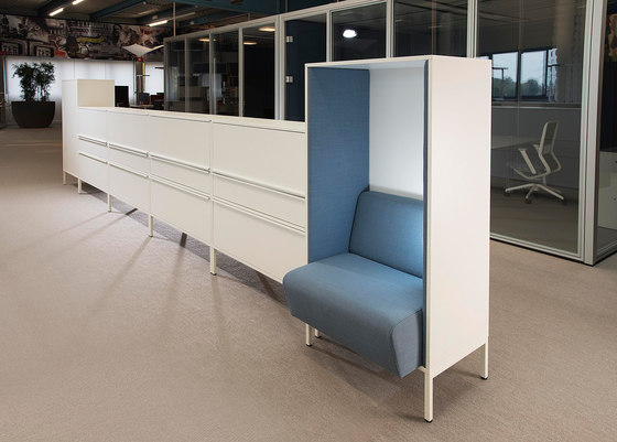 Sitag MCS room dividing partition system by Sitag | Armchairs