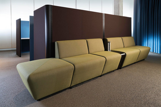 Sitag MCS room dividing partition system | seating modules de Sitag | Sillones
