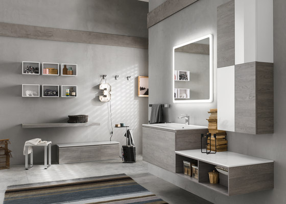 Perfetto/Perfetto+ by Inda | Bath shelving