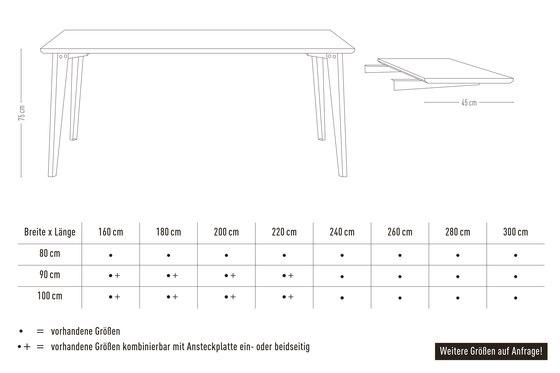 Plog | table de Jan Cray | Mesas comedor