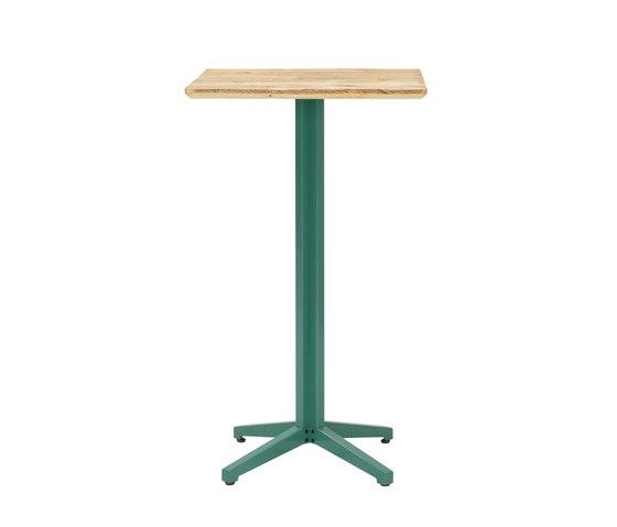 Te | bistro bar table, square di Jan Cray | Tavoli alti