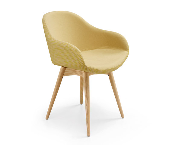 Sonny PB LG by Midj | Visitors chairs / Side chairs