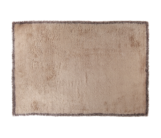 Moroccan Touch MTBorder beige/brown mix by Amini | Rugs