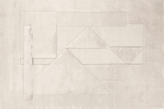 MANLIO RHO Composizione 74 von Amini | Formatteppiche