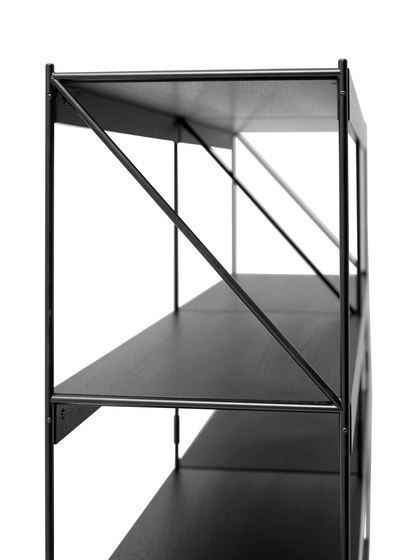 Zet storing system 1x4 de MENU | Sistemas de estantería