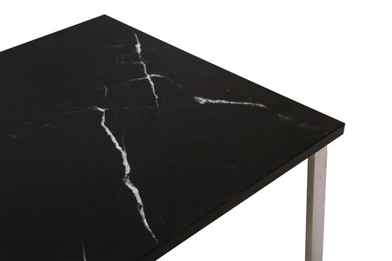 Man Coffee Table: Tabletop Marble Black by NORR11 | Coffee tables