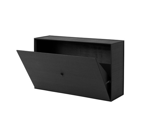 Frame Shoe Cabinet black stained ash by by Lassen | Cabinets