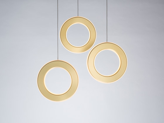 Electron Tri-Pendant by Karice | Suspended lights