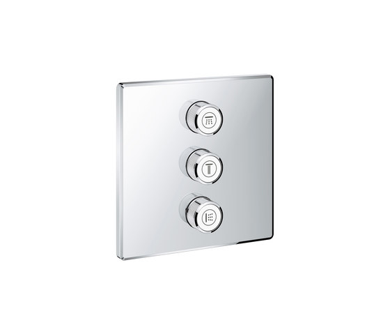 Grohtherm SmartControl Triple volume control trim by GROHE | Shower controls