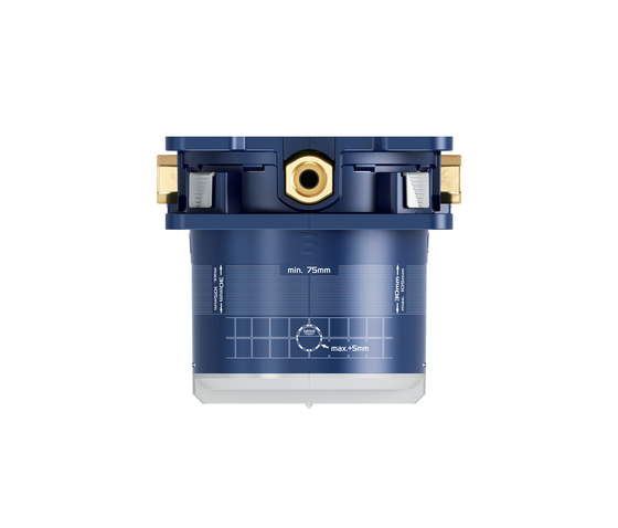 "GROHE Rapido SmartBox Universal rough-in box, 1/2"" by GROHE 