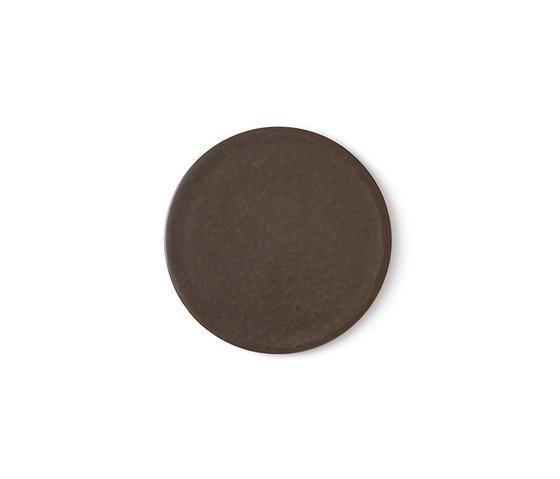 New Norm Plate/Lid   Ø13,5 cm Dark Glazed by MENU   Dinnerware