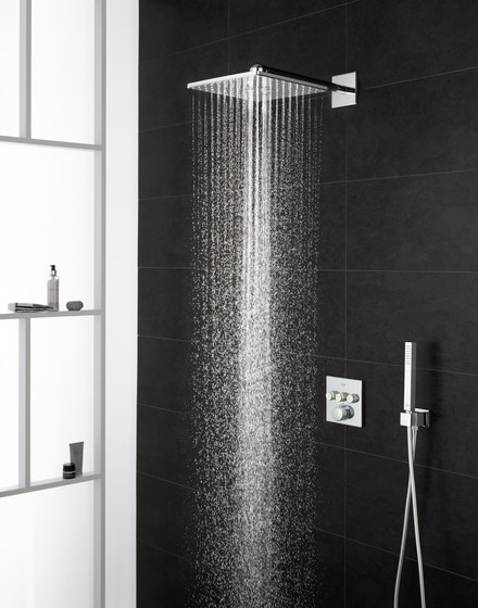 Grohtherm SmartControl Perfect shower set with Rainshower 310 SmartActive Cube by GROHE | Shower taps / mixers
