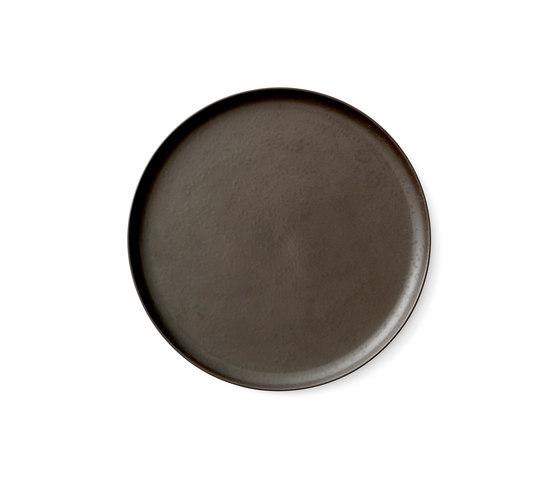 New Norm Dinner Plate | Ø27,5 cm Dark Glazed by MENU | Dinnerware