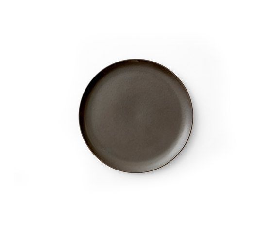New Norm Side Plate | Ø19 cm Dark Glazed de MENU | Vajilla