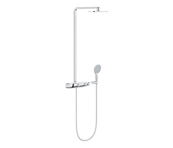 Rainshower SmartControl Shower system with thermostat for wall mounting by GROHE | Shower controls