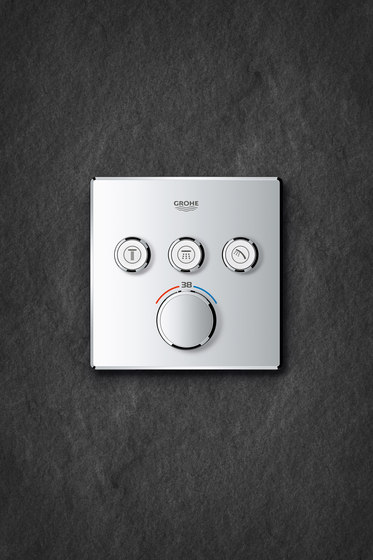Grohtherm SmartControl Thermostat for concealed installation with 3 valves by GROHE | Shower taps / mixers