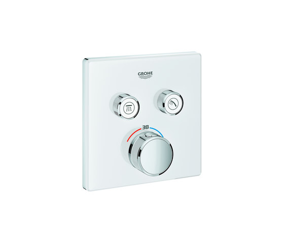 Grohtherm SmartControl Miscelatore termostatico a 2 vie di GROHE | Rubinetteria doccia