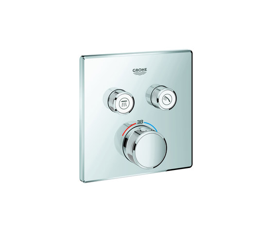Grohtherm SmartControl Thermostat for concealed installation with 2 valves by GROHE | Shower controls