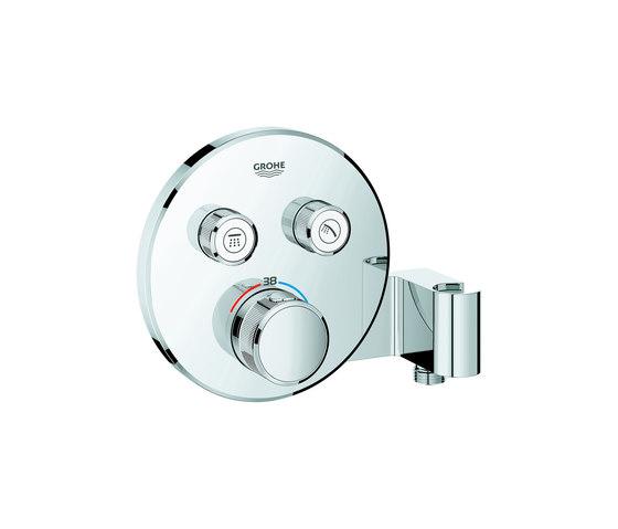 Grohtherm SmartControl Miscelatore termostatico a 2 vie con supporto manopola doccia integrato di GROHE | Rubinetteria doccia