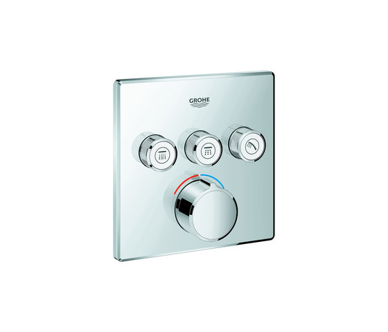 SmartControl Concealed mixer with 3 valves by GROHE | Shower controls