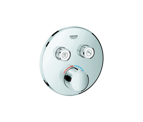 SmartControl Concealed mixer with 2 valves by GROHE | Shower controls