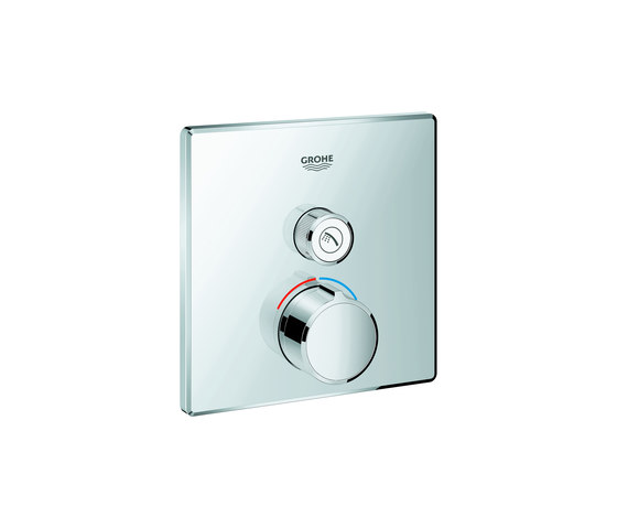 SmartControl Concealed mixer with one valve by GROHE | Shower controls