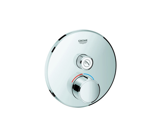 SmartControl Concealed mixer with one valve by GROHE   Shower controls