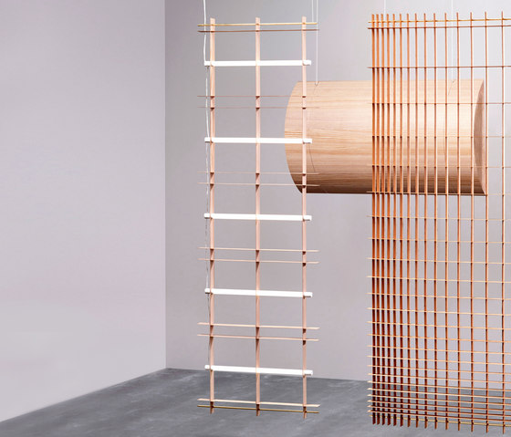 Grid Space Dividers by Tuttobene | Sound absorbing suspended panels