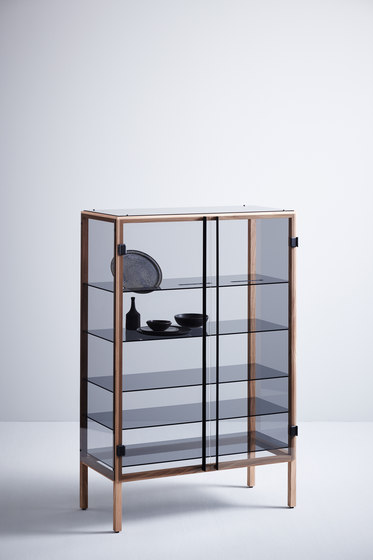 Shade glass cabinet by Tuttobene | Display cabinets