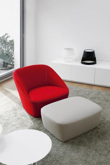 Bucket | 90 Armchair & 60 Footstool by spHaus | Armchairs