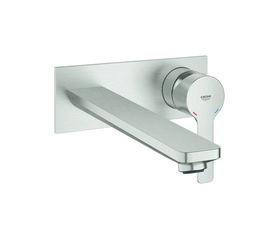 Lineare 2-hole basin mixer L-Size by GROHE | Wash basin taps
