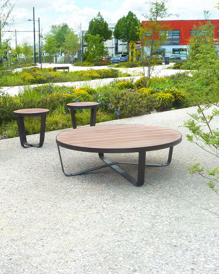 Karma low table by Concept Urbain | Dining tables