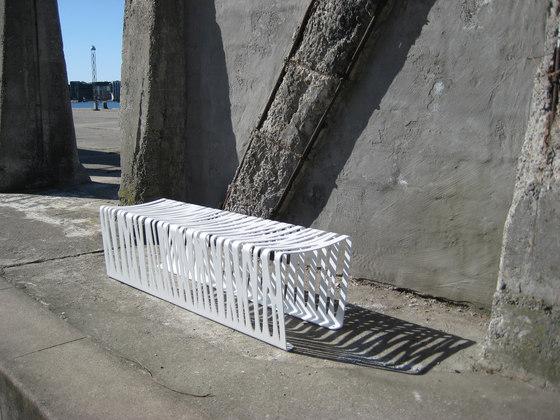 Zebra bench de Concept Urbain | Bancos
