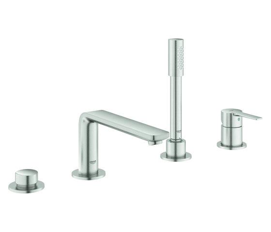 Lineare 4-hole single-lever bath combination by GROHE   Bath taps