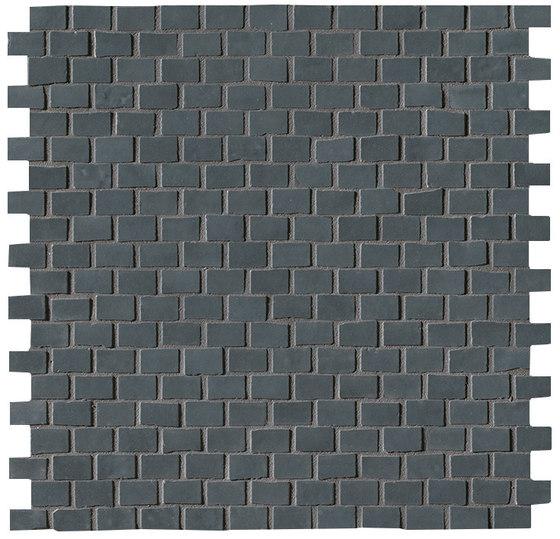 Brooklyn Brick Carbon Mosaico de Fap Ceramiche   Mosaïques céramique