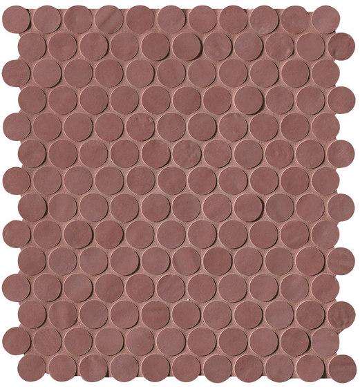 Brooklyn Round Flame Mosaico de Fap Ceramiche | Mosaicos de cerámica