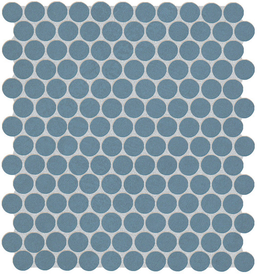 Color Line Avio Round Mosaico by Fap Ceramiche | Ceramic mosaics