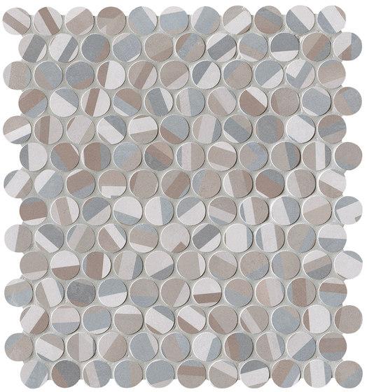 Color Line Deco Round Mosaico de Fap Ceramiche | Mosaïques céramique